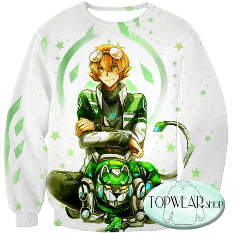 Image of Voltron: Legendary Defender Sweatshirts - Lion Paladin Pidge Cool Sweatshirt