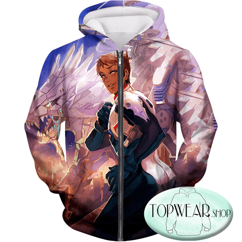 Voltron: Legendary Defender Hoodies - Cosplay Lance the Blue Lion Paladin Pullover Hoodie