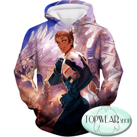 Image of Voltron: Legendary Defender Hoodies - Cosplay Lance the Blue Lion Paladin Pullover Hoodie