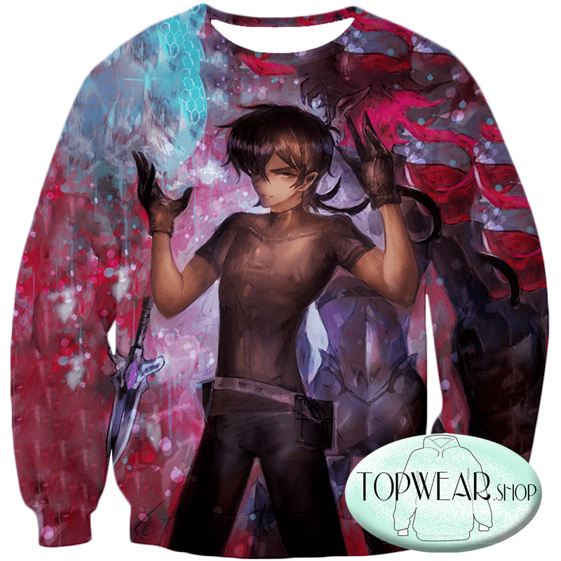 Voltron: Legendary Defender Sweatshirts -  Half Galrian Keith  Made Art Sweatshirt