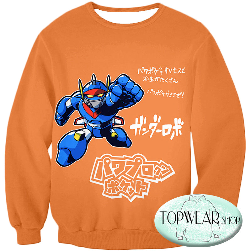 Voltron: Legendary Defender Sweatshirts - Action Robot Promo Anime Sweatshirt