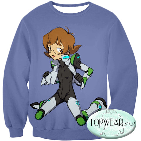 Image of Voltron: Legendary Defender Hoodies - Pidge Lion Paladin Super Cool Pullover Hoodie