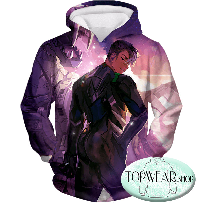Voltron: Legendary Defender Hoodies - Shiro the Ultimate Black Lion Paladin Zip Up Hoodie