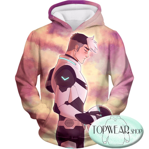 Image of Voltron: Legendary Defender Hoodies -Ultimate Universe Defender Shiro the Space Dad Pullover Hoodie