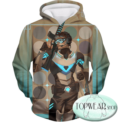 Image of Voltron: Legendary Defender Hoodies - Force Sharpshooter Lance  Paladin Pullover Hoodie
