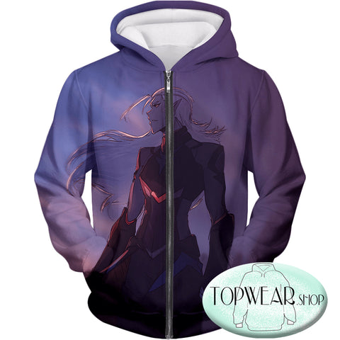 Image of Voltron: Legendary Defender Hoodies - Lotor Cool Cartoon Pullover Hoodie