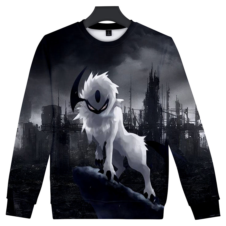 Pokemon Sweatshirts - Dark Psychic Disaster Pokemon Sweatshirt