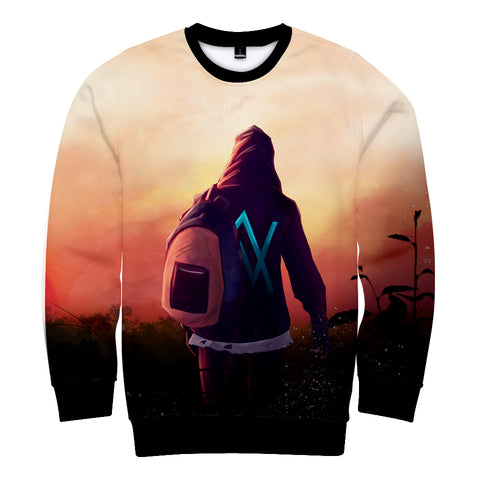 Image of Alan Walker Hoodies - Take Jounery with Backpack Hoodie