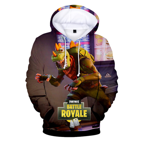 Image of Fortnite Hoodies - Rex and Jungle Scout 3D Hoodie