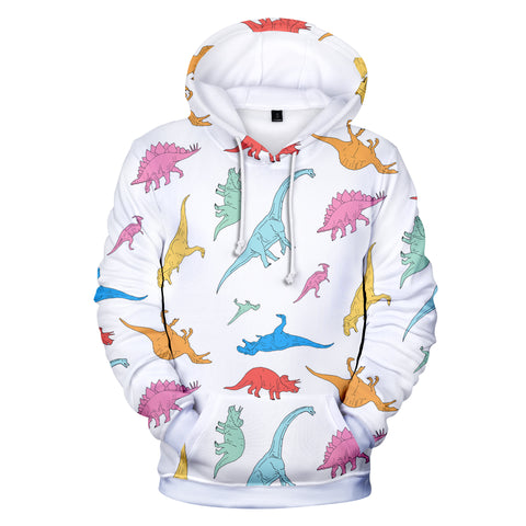 Image of Fortnite Hoodies - Fortnite Dinosaur Pattern 3D Hoodie