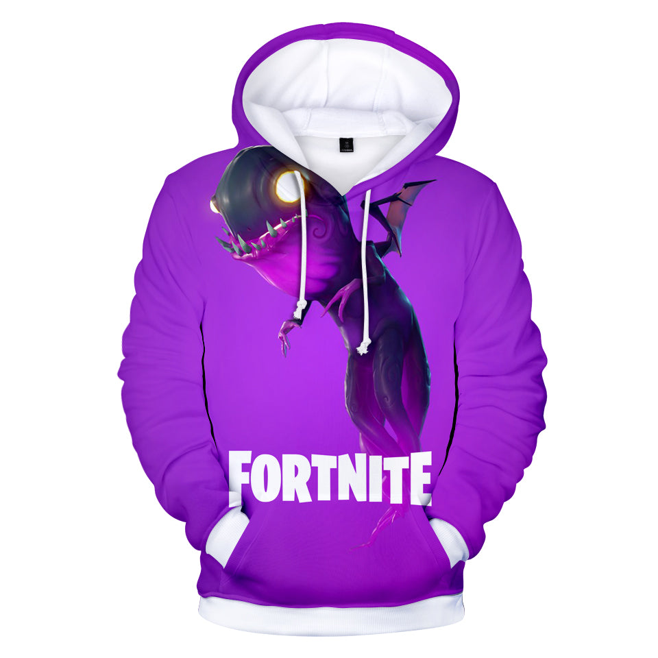 Fortnite Hoodies - Fortnite Character Mimic Monster 3D Hoodie