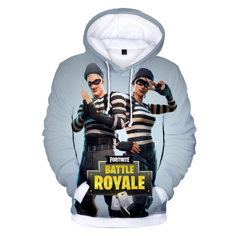 Image of Fortnite Hoodies - Fortnite Prisoner suit 3D Hoodie