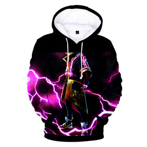 Fortnite Hoodies - Legendary Sky Fox Drift 3D Hoodie