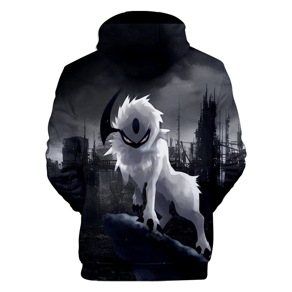 Pokemon Hoodies - Dark Psychic Disaster Pokemon Hoodie
