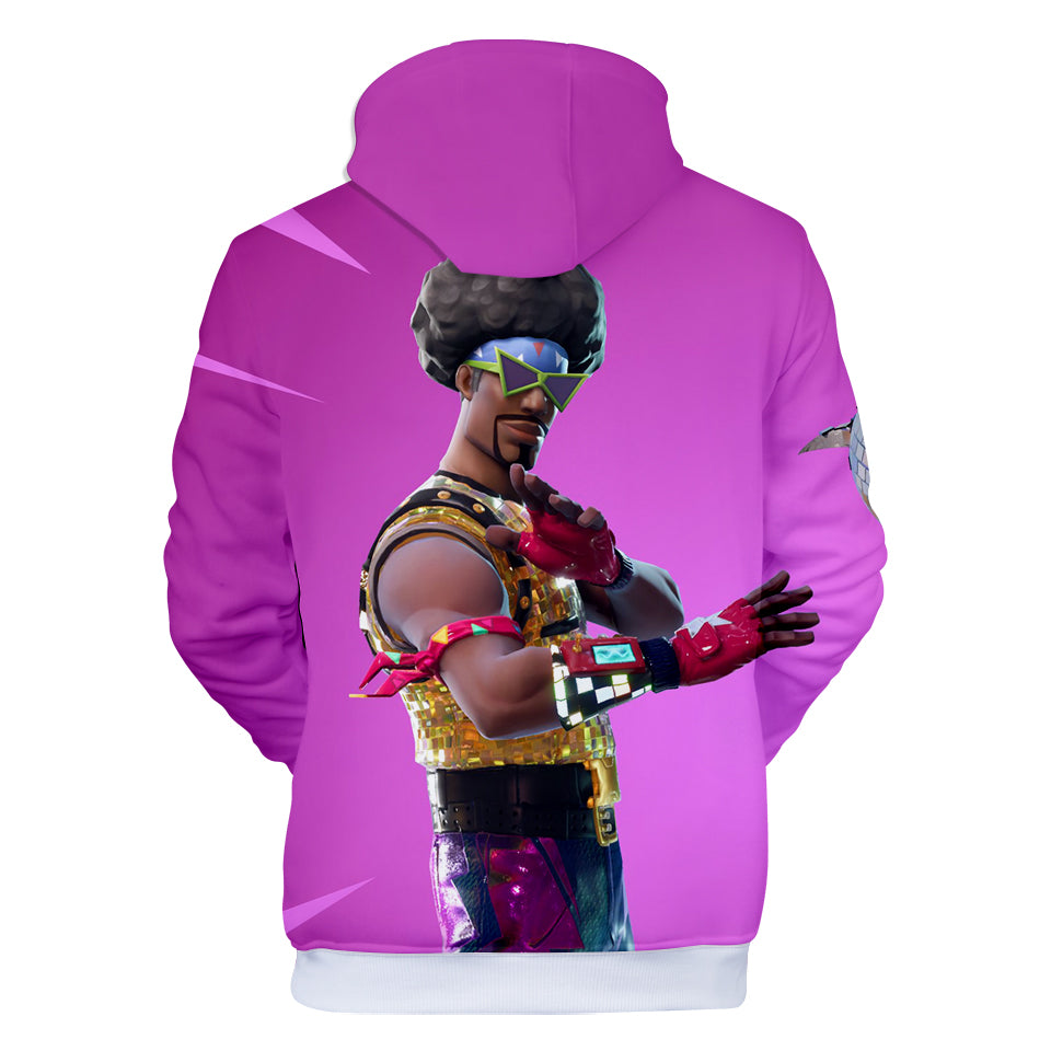 Fortnite Hoodies - Fortnite Funk Ops 3D Hoodie