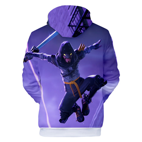 Fortnite Hoodies - Fortnite Ninja 3D Hoodie