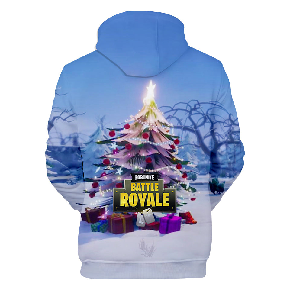 7977b2123375 Fortnite Hoodies - Fortnite Game Christmas Series Christmas Tree ...