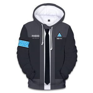 Detroit Hoodies - Detroit: Become Human Super Cool Hoodie