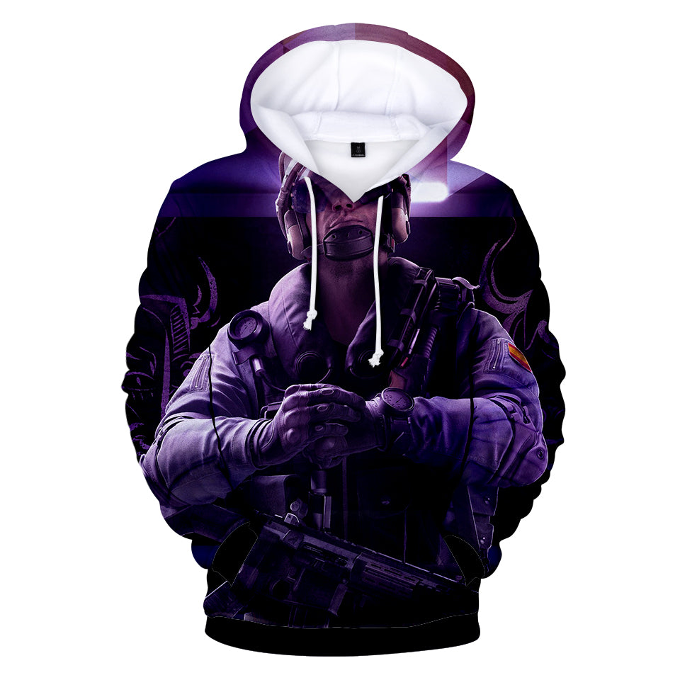 Rainbow Six Hoodies - Rainbow Six FBI SWAT Hoodie