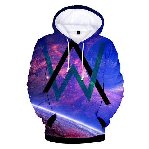 Alan Walker Hoodies - DJ Alan Walker All Over Printed Hoodies
