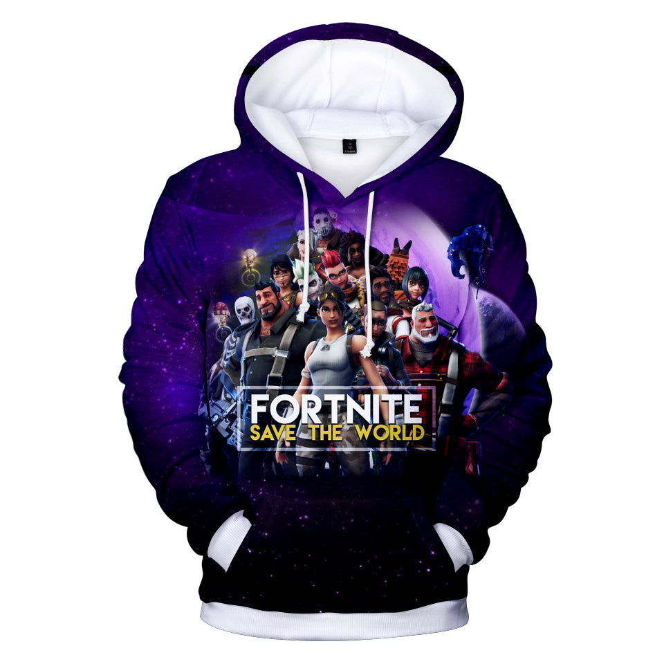 Fortnite Hoodies - Game Heroes Collection 3D Hoodie