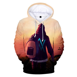 Alan Walker Hoodies - Take Jounery with Backpack Hoodie
