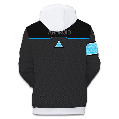 Image of Detroit Hoodies - Detroit: Become Human Logo icon Hoodie