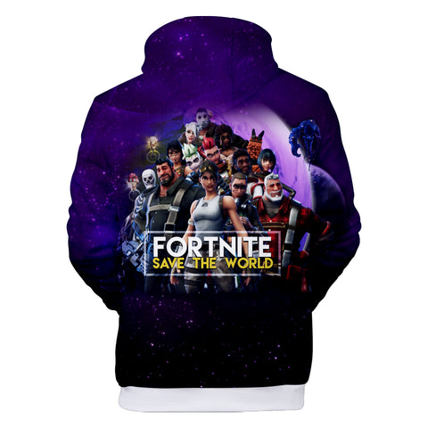 Image of Fortnite Hoodies - Game Heroes Collection 3D Hoodie