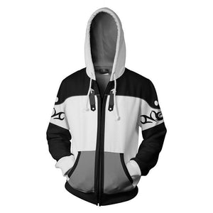 Kingdom Hearts Sora Hoodies - Zip Up Sora Final Form Hoodie