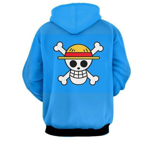 Image of Zoro Law Sanji One Piece 3D Hoodie
