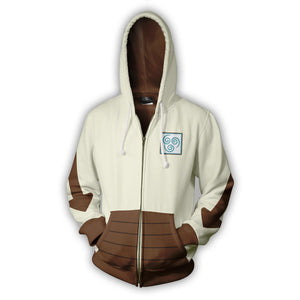 Avatar: The Last Airbender Appa Hoodies: Zip Up Hoodie