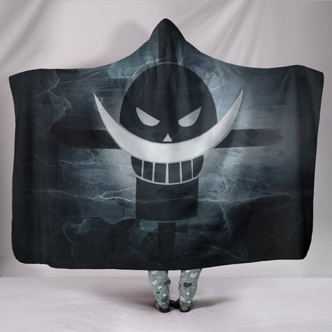 Image of One Piece Hooded Blanket -  Whitebeard Symbol Blanket