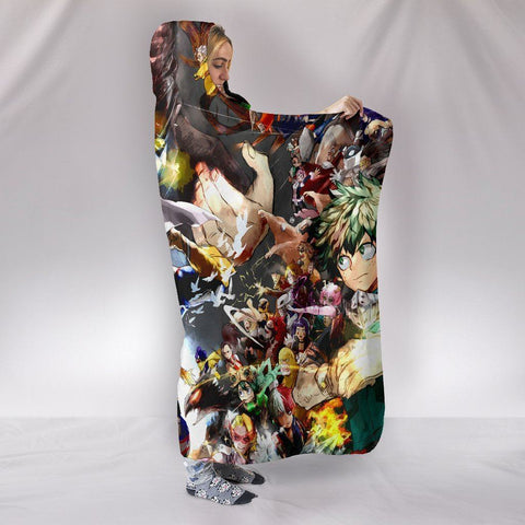 My Hero Academia Hooded Blankets - Boku No Hero Academia Character Hooded Blanket