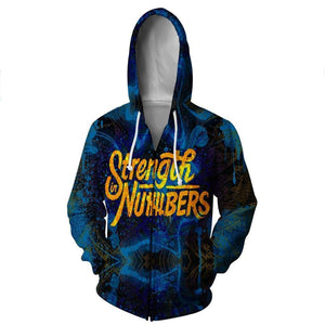 Golden State Warriors Hoodies - Pullover Blue Hoodie