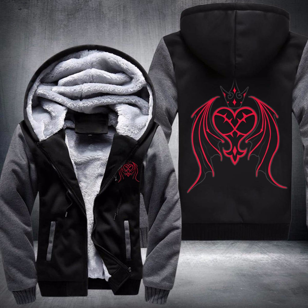 Kingdom Hearts Hoodies - Heartless Fleece Winter Warm Jacket