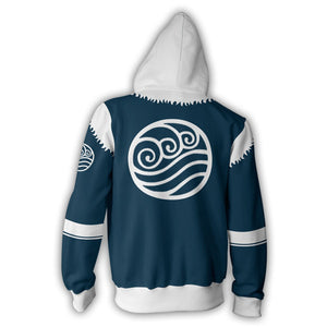 Avatar: The Last Airbender Korra Hoodies - Zip Up Hoodie