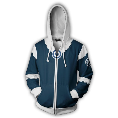 Image of Avatar: The Last Airbender Korra Hoodies - Zip Up Hoodie