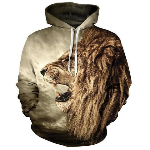 Image of Lion Hoodie Men/Women