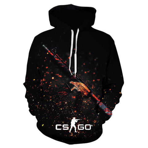 CSGO Counter-Strike 3D Printed Hoodies Pullover