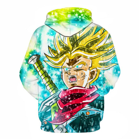 Image of Future Trunks - Anime Hoodie