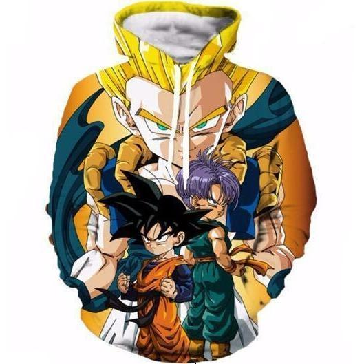 Anime Dragon Ball Z 3D Printed Hoodie