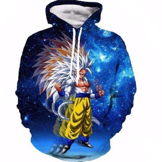 Unisex Anime Dragon Ball Z  Goku 3D Printed Hoodies