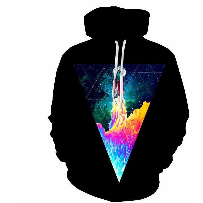 Unisex Space Shuttle Launch Hoodie