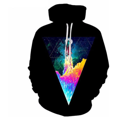Image of Unisex Space Shuttle Launch Hoodie