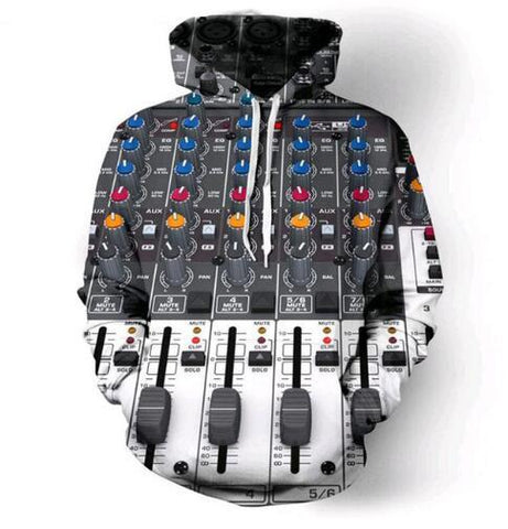 Image of Electronic Mixing Desk Hoodie