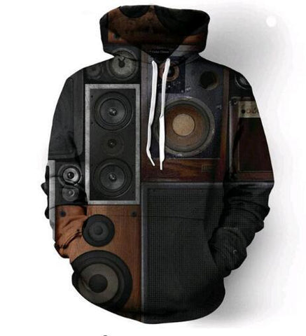 Image of Retro Subwoofer Hoodie