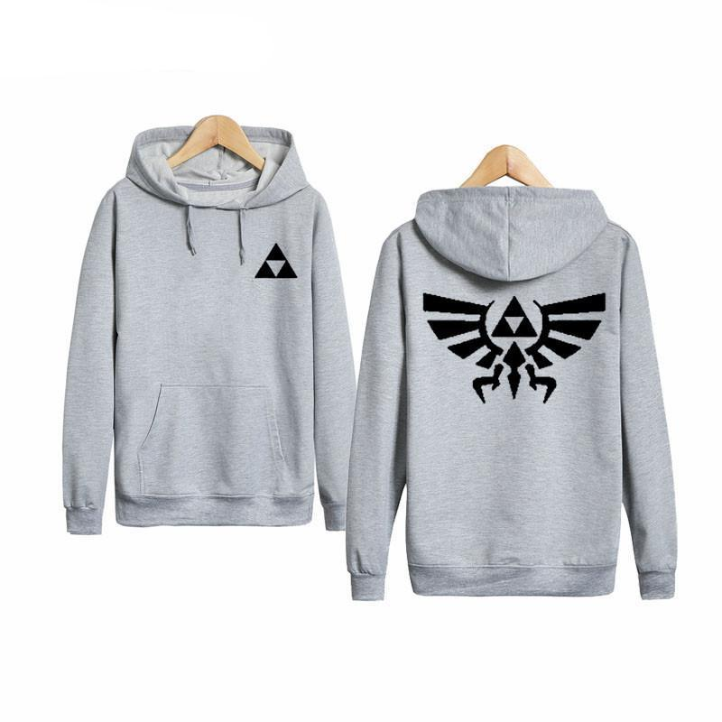 The Legend Of Zelda Hoodies - Pullover Solid Color Hoodie