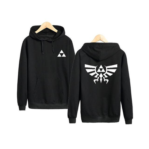 Image of The Legend Of Zelda Hoodies - Pullover Solid Color Hoodie