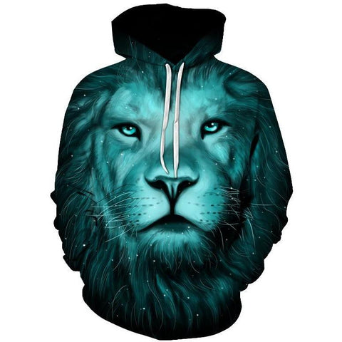 Image of Green Night Lion