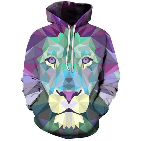 Image of Green Lion Hoodie